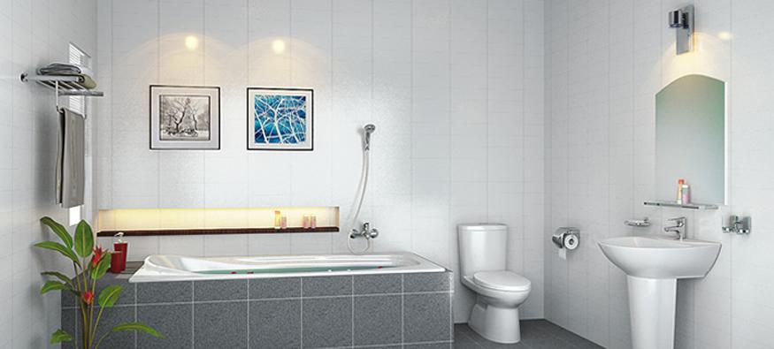 Thiết bị vệ sinh Toto tiện nghi trọn bộ cho nhà tắm hiện đại