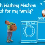 Chọn máy giặt bao nhiêu kg để phù hợp cho gia đình?