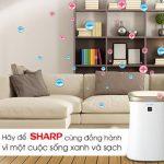 Máy lọc không khí Sharp-đem sự trong lành cho gia đình bạn