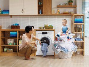Bí quyết chọn máy giặt phù hợp với gia đình bạn