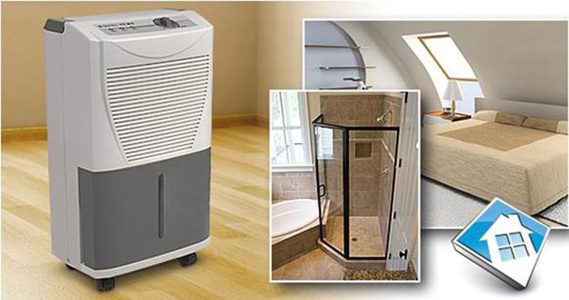Mua máy hút ẩm gia đình vào ngày đông ẩm ướt