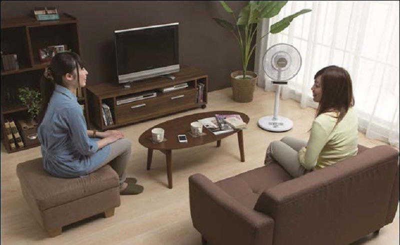 Bí quyết làm căn phòng của bạn mát hơn với quạt nội địa Nhật