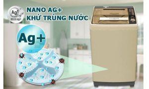 Tìm hiểu công nghệ khử mùi - diệt khuẩn Ag+ trên máy giặt Nhật