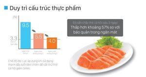 Ngăn chân không trên tủ lạnh Hitachi - Giữ trọn hương vị dinh dưỡng