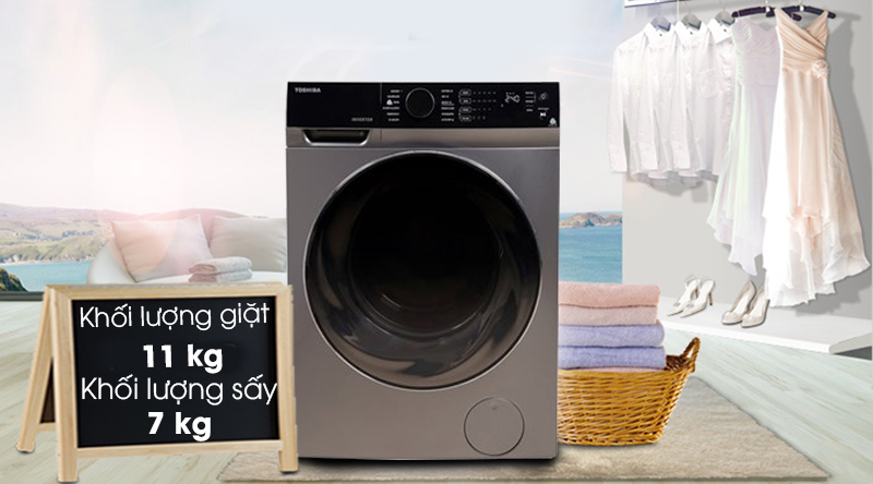 Máy giặt Toshiba TWDBJ120M4VSK