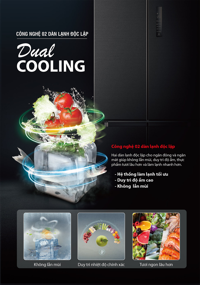 Tủ lạnh Toshiba RF610WEPMV37SG